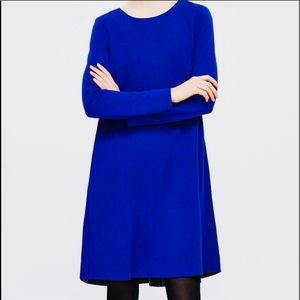 COS Dress Rayon Blend Long Sleeves Pockets